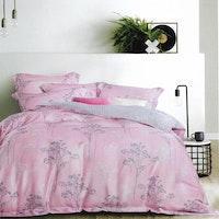 Sleep Buddy Set Sprei Forest Pink Organic Cotton 160x200x30