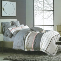 Sleep Buddy Set Sprei Great Line Cotton Sateen 160x200x30
