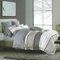 Sleep Buddy Set Sprei dan bed cover Great Line Cotton Sateen 200x200x30