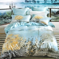 Sleep Buddy Set Sprei Paint Panel Cotton Sateen 160x200x30