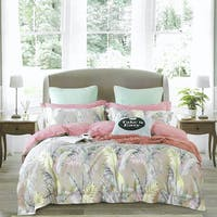 Sleep Buddy Set Sprei Brown Leaf Cotton Sateen 200x200x30