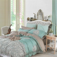Sleep Buddy Set Sprei Bunch Flower Cotton Sateen 160x200x30