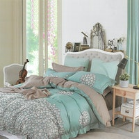 Sleep Buddy Set Sprei Bunch Flower Cotton Sateen 180x200x30