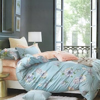 Sleep Buddy Set Sprei Rosewood Cotton Sateen 180x200x30