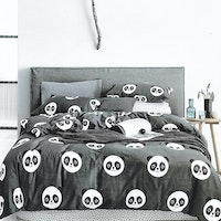 Sleep Buddy Set Sprei Cotton Cute Chic Sateen 160x200x30
