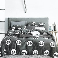 Sleep Buddy Set Sprei Cotton Cute Chic Sateen 180x200x30