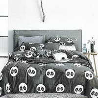 Sleep Buddy Set Sprei dan bed cover Cute Chic Cotton Sateen 120x200x30
