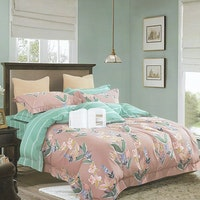 Sleep Buddy Set Sprei Aden Classic Cotton Sateen 180x200x30