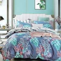 Sleep Buddy Set Sprei dan bed cover Herbeno Cotton Sateen 200x200x30