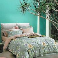 Sleep Buddy Set Sprei dan bed cover First Dale Cotton Sateen 160x200x30