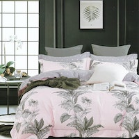 Sleep Buddy Set Sprei dan bed cover Lavandis Cotton Sateen 160x200x30