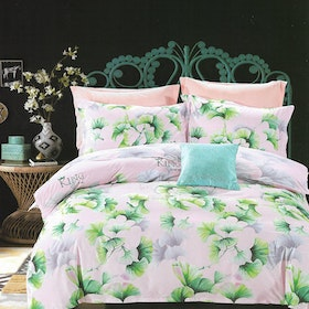 Sleep Buddy Set Sprei dan bed cover Rossela Cotton Sateen 160x200x30