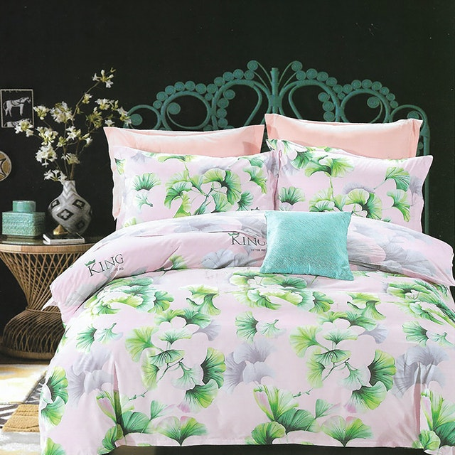 Sleep Buddy Set Sprei dan bed cover Rossela Cotton Sateen 180x200x30