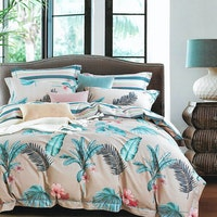 Sleep Buddy Set Sprei dan bed cover Heart Lea Cotton Sateen 200x200x30