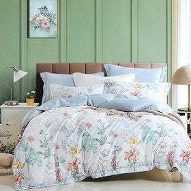 Sleep Buddy Set Sprei dan bed cover Maymill Cotton Sateen 180x200x30