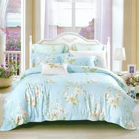 Sleep Buddy Set Sprei dan bed cover Daisy Tencel 160x200x30
