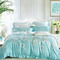 Sleep Buddy Set Sprei dan bed cover Fancy Organic Cotton 160x200x30