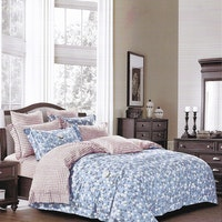 Sleep Buddy Set Sprei dan bed cover Jasmine Small Cotton Sateen 200x200x30