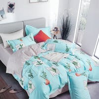 Sleep Buddy Set Sprei dan Bed Cover Leaf On Frame Cotton Sateen 200x200x30