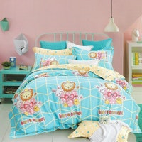 Sleep Buddy Set Sprei dan Bed Cover Easter Vibes Cotton Sateen 180x200x30