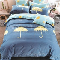 Sleep Buddy Set Sprei Rain Season Cotton Sateen 160x200x30