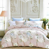 Sleep Buddy Set Sprei White Camelia Cotton Sateen 160x200x30