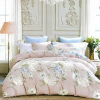 Sleep Buddy Set Sprei dan Bed Cover White Camelia Cotton Sateen 180x200x30