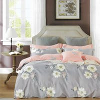 Sleep Buddy Set Sprei dan Bed Cover Freesia Cotton Sateen 180x200x30
