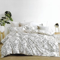 Sleep Buddy Set Sprei Lining Grass Cotton Sateen 160x200x30