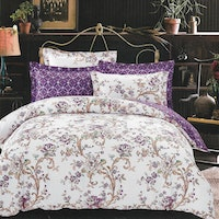 Sleep Buddy Set Sprei dan Bed Cover Luxury One Cotton Sateen 180x200x30