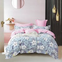 Sleep Buddy Set Sprei Sakura Time Cotton Sateen 180x200x30