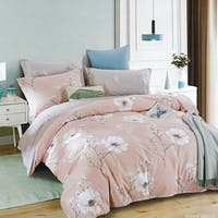 Sleep Buddy Sleep Buddy Set Sprei dan Bed Cover Rosume Flower Cotton Sateen 200x200x30
