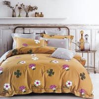 Sleep Buddy Sleep Buddy Set Sprei dan Bed Cover Mush Flower Cotton Sateen 180x200x30