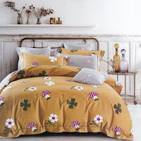 Sleep Buddy Sleep Buddy Set Sprei dan Bed Cover Mush Flower Cotton Sateen 200x200x30