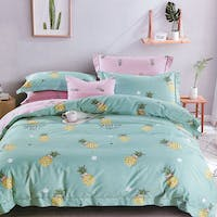 Sleep Buddy Sleep Buddy Set Sprei Pineapple Pattern Cotton Sateen 160x200x30