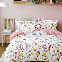 Sleep Buddy Sleep Buddy Set Sprei dan Bed Cover All Fruit Cotton Sateen 120x200x30