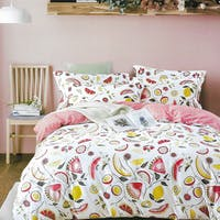 Sleep Buddy Sleep Buddy Set Sprei dan Bed Cover All Fruit Cotton Sateen 180x200x30