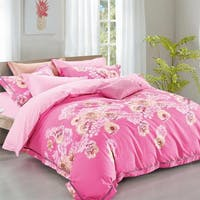 Sleep Buddy Set Sprei Smash Pink Cotton Sateen 160x200x30