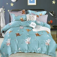 Sleep Buddy Set Sprei dan Bed Cover Katty Tosca Tencel Poly 160x200x30