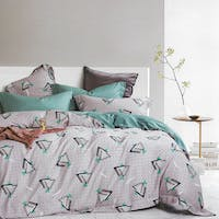 Sleep Buddy Set Sprei dan Bed Cover Still Polka Grey Tencel Poly 160x200x30