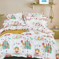 Sleep Buddy Sleep Buddy Set Sprei Princess Party Cotton Sateen 200x200x30