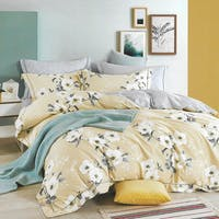 Sleep Buddy Sleep Buddy Set Sprei dan Bed Cover Leya Cotton Sateen 180x200x30