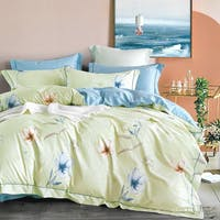 Sleep Buddy Sleep Buddy Set Sprei dan Bed Cover Paint leaf Cotton Sateen 180x200x30