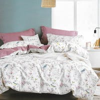 Sleep Buddy Sleep Buddy Set Sprei Bird Garden Cotton Sateen 180x200x30