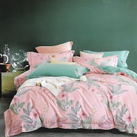 Sleep Buddy Sleep Buddy Set Sprei dan Bed Cover Trident Pink Cotton Sateen 180x200x30