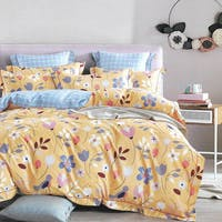 Sleep Buddy Sleep Buddy Set Sprei dan Bed Cover Cute Garden Cotton Sateen 120x200x30