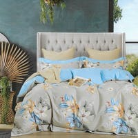Sleep Buddy Sleep Buddy Set Sprei Peace Lily Cotton Sateen 120x200x30