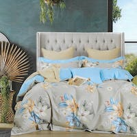 Sleep Buddy Sleep Buddy Set Sprei dan Bed Cover Peace Lily Cotton Sateen 120x200x30