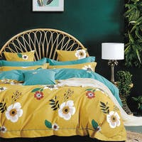 Sleep Buddy Set Sprei dan Bed Cover Big Paint Cotton Sateen 120x200x30