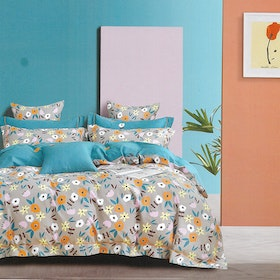 Sleep Buddy Sleep Buddy Set Sprei Plenty Flower Cotton Sateen 160x200x30